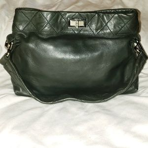 Ltd. Ed. Chanel 8 Knots Forest Green Shoulder Bag